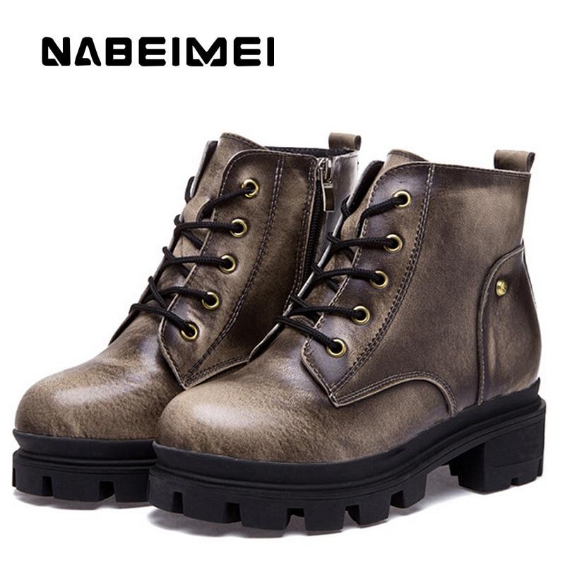 Superstar Bottes Designer up Femelle Dentelle Black Solides Moto Cuir Plate En Véritable Chaussures Cales bronze Femmes Adulte Peluche forme Boot wIqrAEq