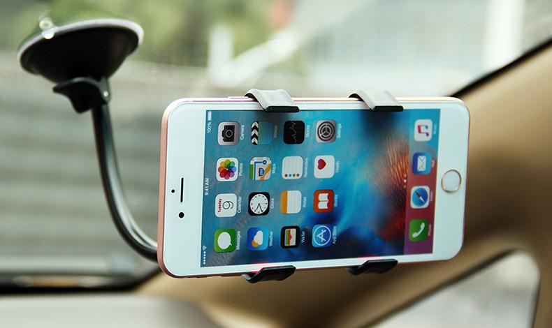 Uniwersalny uchwyt samochodowy uchwyt na telefon komórkowy dla iphone 6 6 s plus se obsługi stoiska dla samsung elastyczny uchwyt telefonu dla sony 2