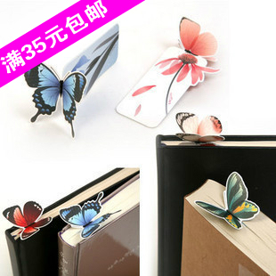 The appendtiff stationery butterfly bookmark exquisite gift bookmark animal bookmark