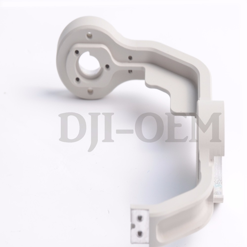 DJI Phantom 4 Gimbal Yaw Roll Arm Replacement for Phantom 4 DIY kit HRC55 Aerometal CNC Mill Aluminum Parts