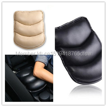 NEW Car Armrests Cover Pad Vehicle Center Console Arm Rest Seat Pad For Hyundai ix35 iX25 i20 i30 Sonata Verna SantaFe Veracruz image