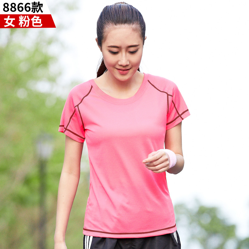 Womens T shirt Plus Size Short Sleeve Unisex Couple Run Tops Woman Fashion Casual Loose Tees High Quality Quick drying Clothes in T Shirts from Women 39 s Clothing