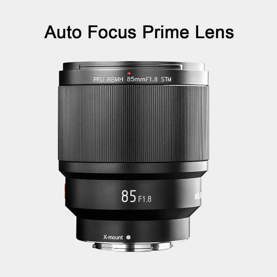 VILTROX 85mm F1.8 מלא-מסגרת AF קבוע פוקוס עדשת X הר פוקוס אוטומטי דיוקן ראש עדשה עבור Fujifilm פוג 'י FX הר מצלמה עדשה