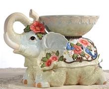 ceramic Elephant stool small seat home decor crafts room decoration handicraft porcelain animal figurines wedding decorations  sc 1 st  AliExpress.com & Popular Elephant Porcelain-Buy Cheap Elephant Porcelain lots from ... islam-shia.org