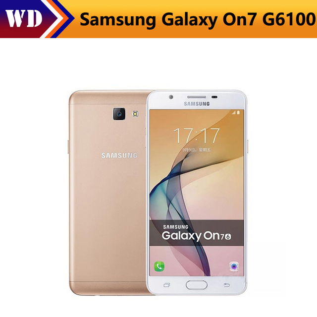 "Original Samsung Galaxy On7 2016 J7 Prime G6100 Dual Sim 5.5"" 3300mAh 3GB RAM 32GB ROM 13MP 4G LTE Fingerprint Smartphone"