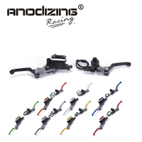 CNC 7 8 22mm Universal Motocross Dirt Bike Brake Clutch Lever For Honda XR230 MOTARD 2005