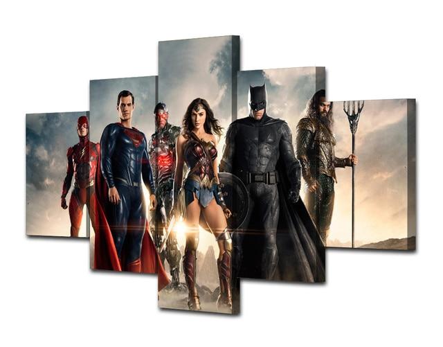 Justice League Movie Canvas