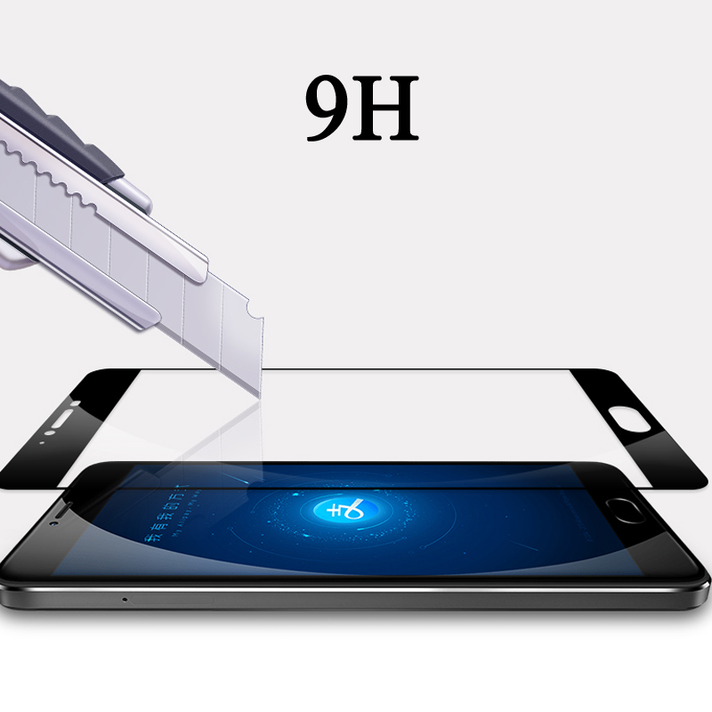 9H Screen Protector Film Toughened Glass For Meizu M6S Pro 6 7 Plus M5S M5C M5 M6 Note M3S M3 S mini Full Cover Tempered Glass