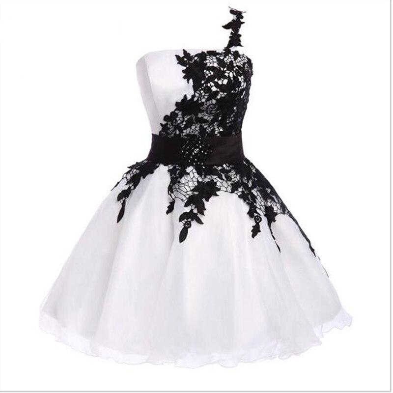 Été 2018 mignon jaune fille école robe pour l'obtention du diplôme courte retour robe Applique robe de soirée robe de bal