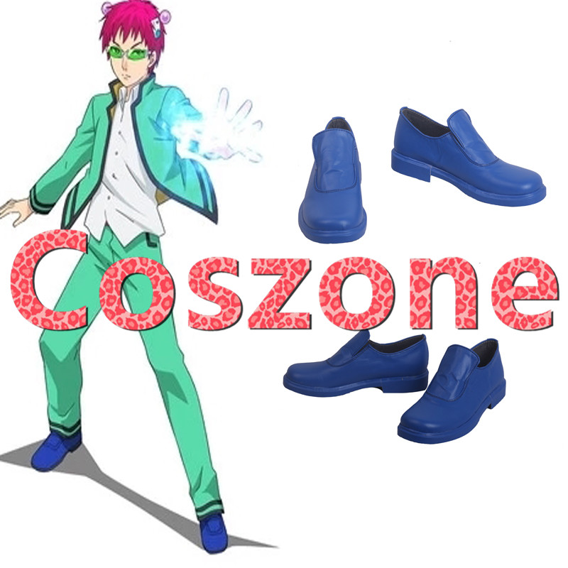 Saiki Kusuo no sai-nan Saiki Kusuo Cosplay The Disastrous Life of Saiki Kusuo Cosplay Shoes Boots Halloween Costume Accessories