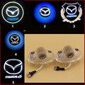 Продвижение HD автомобилей двери свет mazda 8 CX-9 MAZDA6 ATENZA логотип LED Любезно Дверь Логотип Проектор 3d Призрак Тень Свет нет дрель