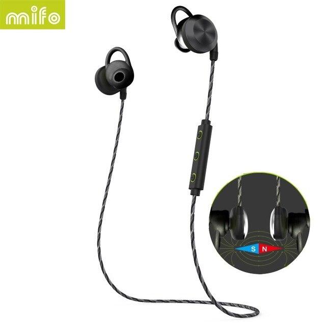 koop mifo u2 magnetische adsorptie draadloze bluetooth headset met microfoon. Black Bedroom Furniture Sets. Home Design Ideas