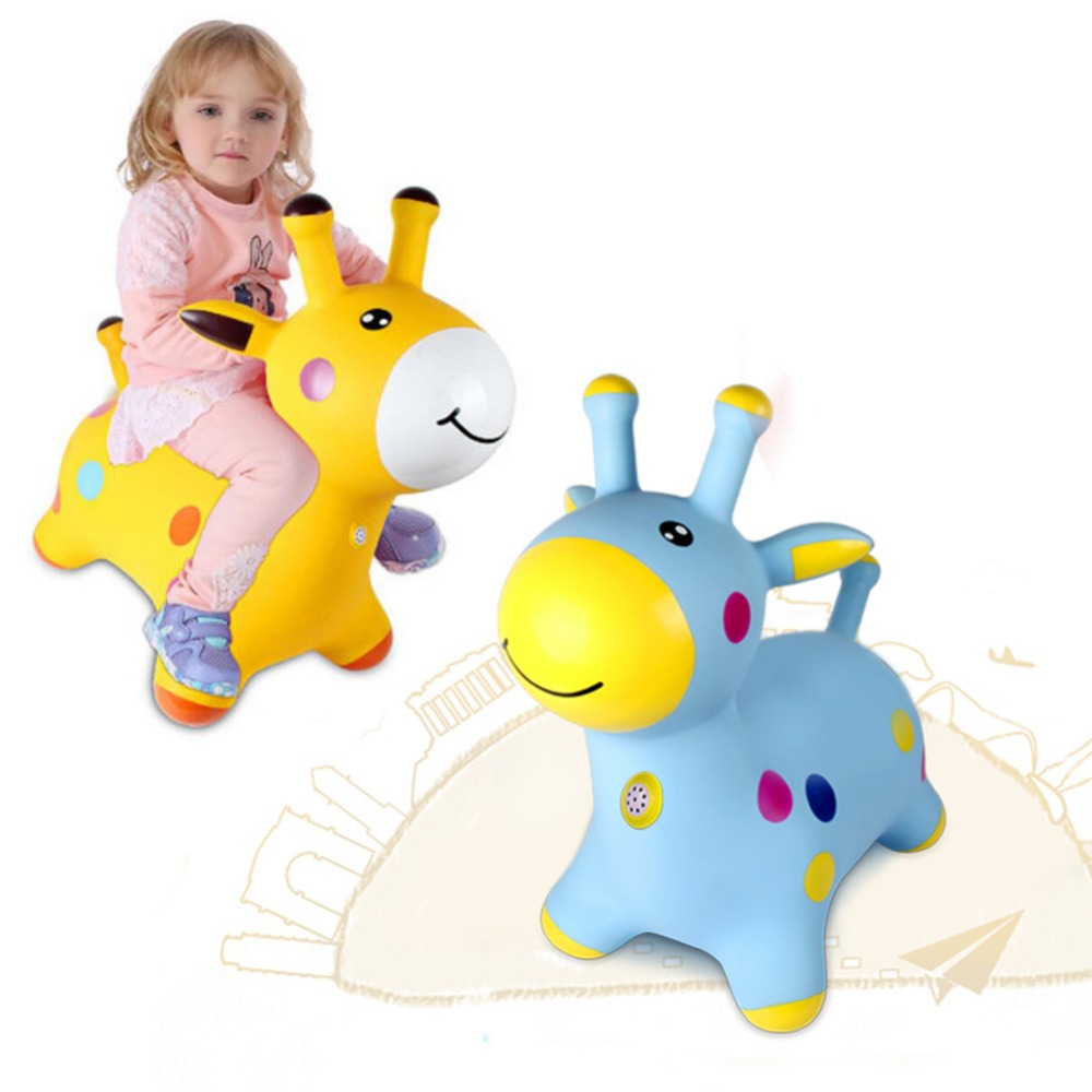 Animals Vault More Thickened Toys Riding For children Inflatable Toys Children's Baby Mount Gift Inflatable Indoor outdoor Use