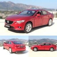 1 32 Mazda ATTZ ATENZA Vehicles Alloy Car Toy Car Model Simulation Models Door Open Diecast