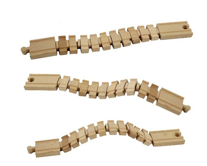 Tomas and Friends railway train head toys Beech wood Deformation track