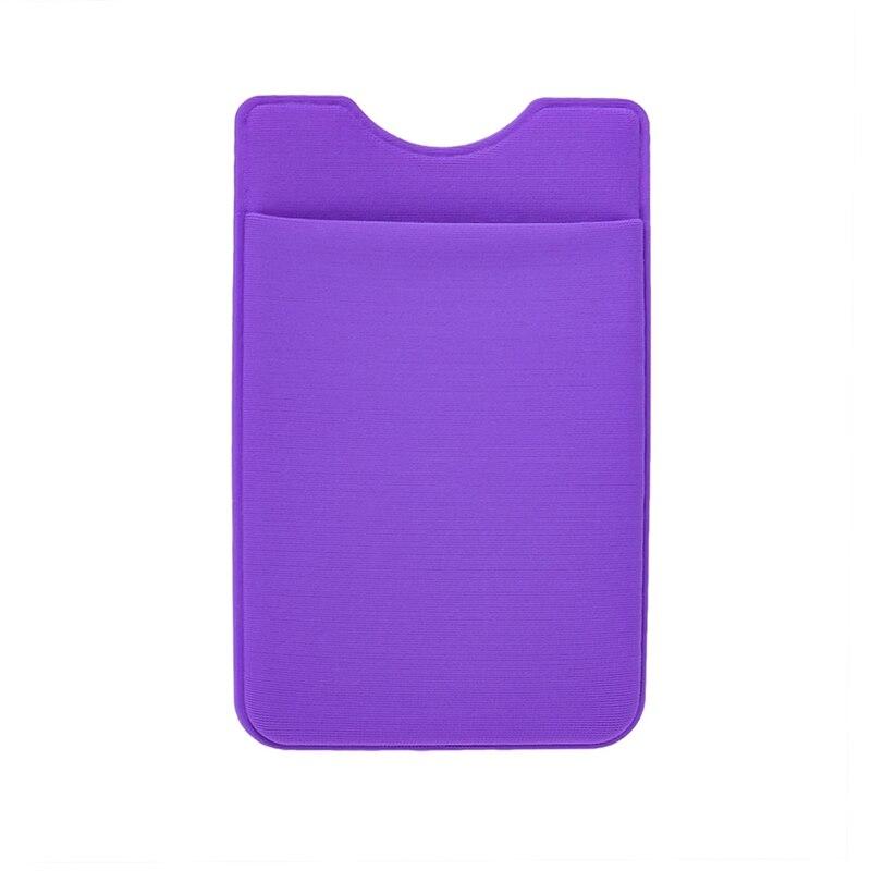 Лайкра мобильного телефона Портативный карман для телефона iphone для xiaomi Стикеры чехол бумажник клей кредитной держатель для карт ...