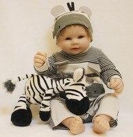 50 см Reborn для маленьких мальчиков куклы 20 Full силиконовые виниловые тела дети играют дома игрушки Bebe подарок Boneca Reborn baby кукла Коллекционные и