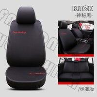 Universal flax car seat covers For volvo s40 s60 s80 v40 v50 v60 v70 v90 xc60 xc70 tesla model 3 model s