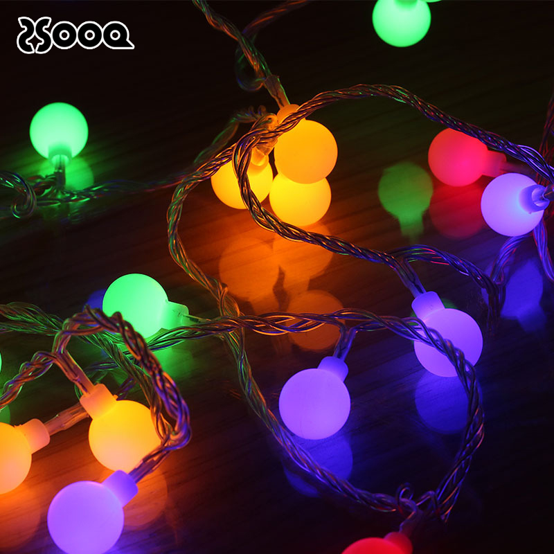 10-80Leds Fairy Bulb Copper Wire Led String Light Home Indoor Decorative Light Chain Garland Battery Powered Night Light LSL049