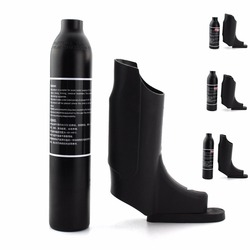 PCP Пейнтбол ВВС 0.22L 0.3L 0.35L 0.45L сосуд высокого давления гПа цилиндр воздуха крышку бутылки 300bar M18x1.5 Алюминий сплав