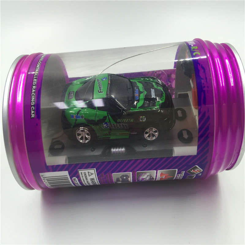 WLtoys 1:63 Mini Cans Remote Control Car Coke Cans High Speed Racing 4 Channels Electronic Car RC Track Model Toys For Kid Gift