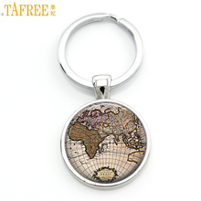 Popular key chains uk buy cheap key chains uk lots from china key tafree vintage world city map keychain new york florence finland los angeles africa uk hometown map sciox Images
