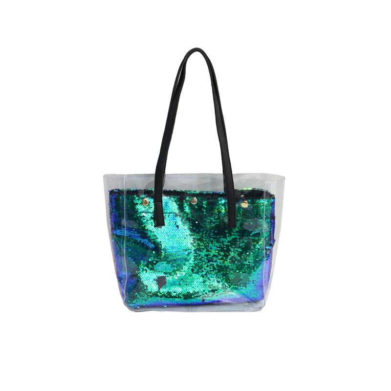 Damentaschen Schultertaschen Freundlich Bonamie Marke Design Frauen Handtasche Mädchen Dame Streifen Wasserdicht Futter Strand Tasche Weibliche Mode Ozean Meerjungfrau Anker Schulter Tasche