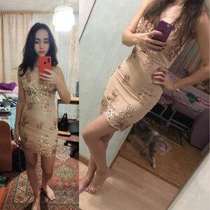 Image 3 - Соблазнительные Клубные наряды, летнее платье с блестками, женское черное облегающее мини платье для вечеринки, винтажные женские платья, одежда 2020