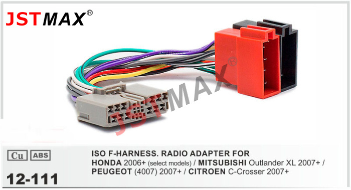 Wiring Harness Adapter Mitsubishi : Aliexpress buy jstmax iso cable car radio stereo