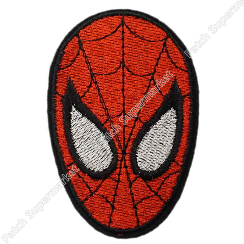Spiderman face logo - photo#29