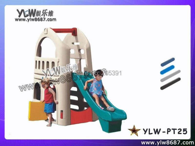 Petite glissière pour le parc de terrain de jeu, glissières de jouet d'enfants pour l'aire de jeu de bébé, aire de jeux de jouets en plastique d'amusement