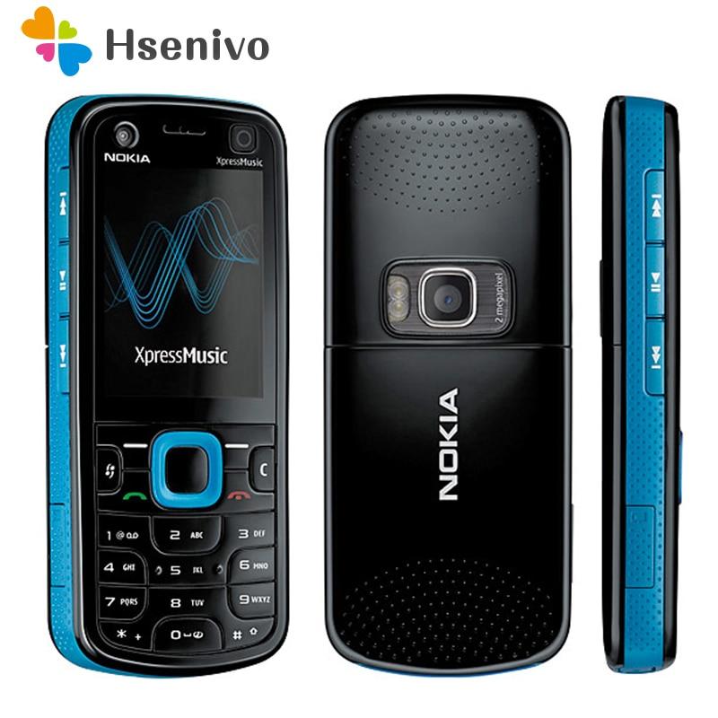 5320 100% Original Nokia 5320 XpressMusic Mobile Phone Refurbished Unlocked Cellphones Free Shipping
