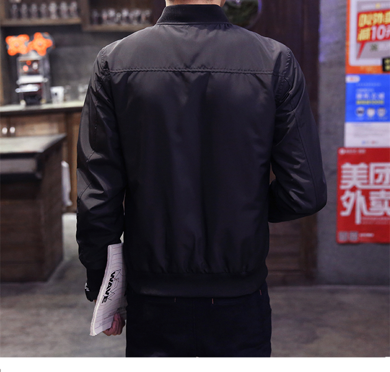 mens jackets and coats Spring Autumn Men's Jackets Thin Solid Fashion Coats Male Casual Slim Bomber Jacket Men Overcoat 4XL 1045