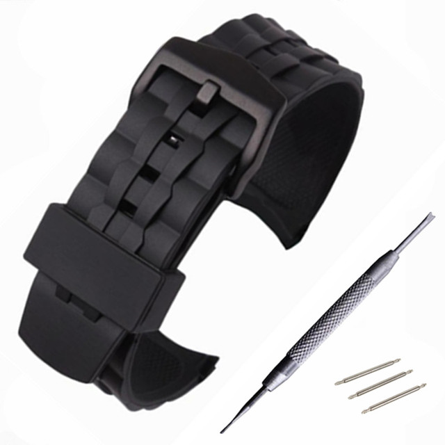 Silicone Rubber Watchband for Casio Edifice EF550 EF552 Replacement Watch Band S