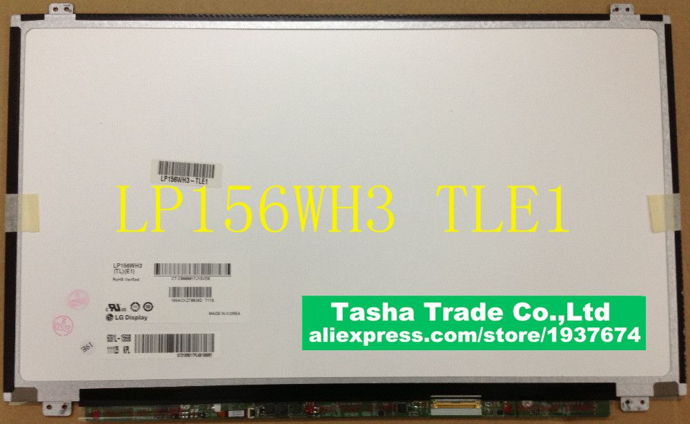 LP156WH3 TLE1  LP156WH3 (TL)(E1) 15.6 Matrix for Laptop Screen 1366*768 Original Good Quality matrix for laptop 15 6 slim 1366 768 ltn156at20 b156xw04 v 5 0 6 1 b156xtn03 2 b156xw03 ltn156at11 lp156wh3 ltn156at30