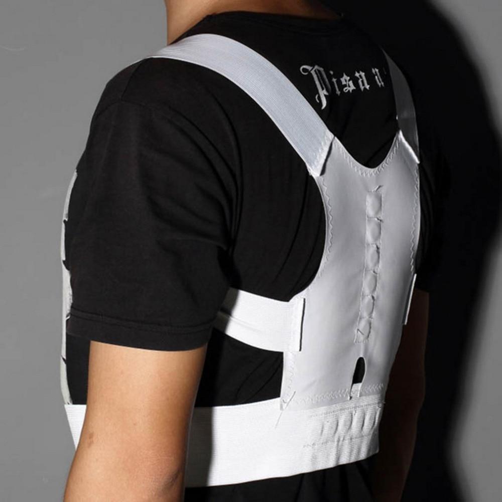 2018 new Posture Support Corrector Body Back White back Pain Shoulder