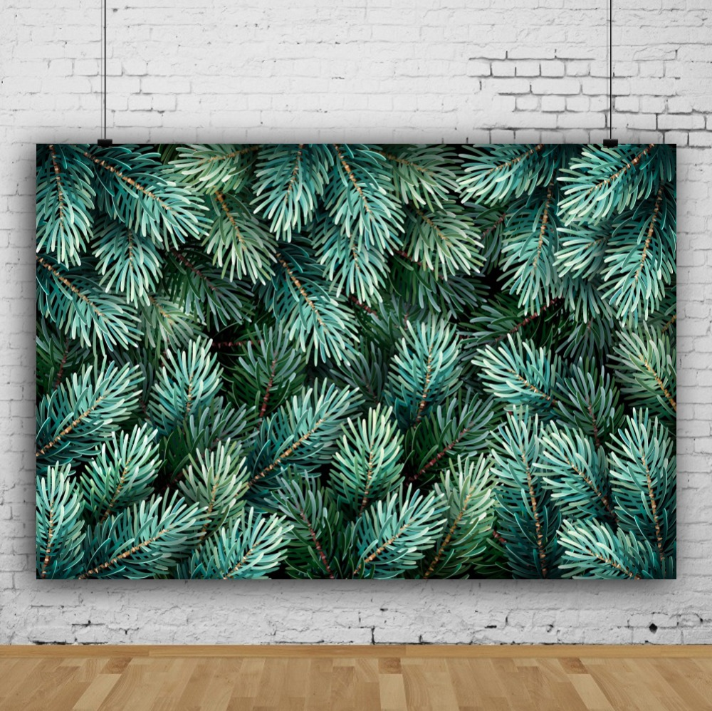 Laeacco Photo Backdrops Tropical Palm Tree Leaves Wallpaper Child Scenic Photographic Backgrounds Photocall Photo Studio in Background from Consumer Electronics