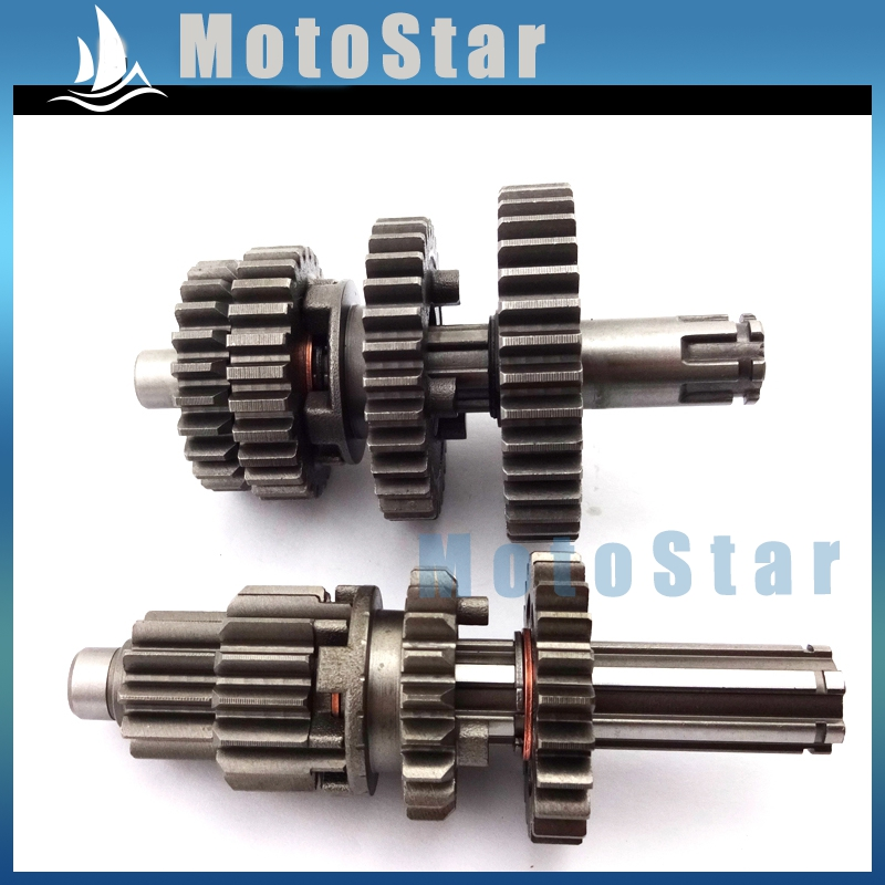 transmission gear box main counter shaft for chinese yx110 yx125 yxtransmission gear box main counter shaft for chinese yx110 yx125 yx 110cc 125cc engine motorcycle pit dirt motor bike in crankshafts from automobiles