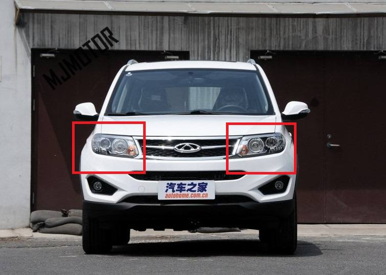 Front Head lamp assy. left and right side for Chinese CHERY TIGGO 5 SUV 2014-2015 Auto car motor parts T21-4421010 все цены