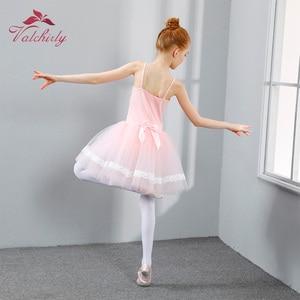 Image 5 - Новое балетное платье пачка для девочек, одежда для трико и танцев, Детские праздничные платья принцесс, детские танцевальные костюмы