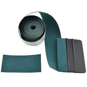 Image 2 - EHDIS 100CM hiçbir çizik süet kumaş kenar karbon fiber film silecek vinil araç örtüsü otomatik pencere tonu kazıyıcı koruyucu bez