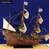 Деревянный корабль модели Наборы Scale 1/90 3d лазерная резка модель боты Diy хобби поезд модель корабля деревянные лодки образования Сан Francisco1607