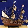 Modelos de Navios de madeira Kits Modelo de Escala 1/90 de Corte A Laser 3d Bots Diy Trem Passatempo Modelo do Navio Barcos De Madeira Educacional San Francisco1607