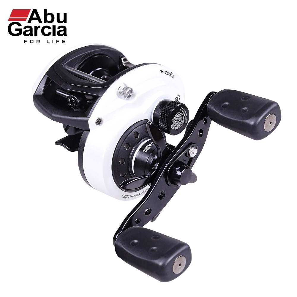 Abu Garcia 100% Original REVO S Baitcasting Reel Low Profile 7+1BB Fishing Reels 6.4:1 Baitcasting Fishing Reel 2017 new abu garcia 100