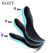 ELEFT EVA height increased insoles Soles for shoes insole Plantar fasciitis foot Massage shoe sole pads inserts accessories(China)
