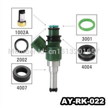 40 unids/set auto inyector de combustible parts repair kits para toyota repuesto