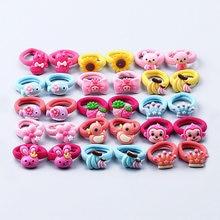 Bandeaux élastiques pour bébés | 10 pièces/lot, bandeaux pour filles porte-queue de cheval, accessoires pour cheveux de bébé Clips gomme
