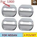 Coche Cerradura de La Puerta Caso de la Cubierta Para Nissan Qashqai Tiida TEANA x-trail Almera Soleado Accesorios
