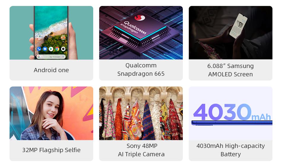 Versión Global Xiaomi mi A3 4GB 128GB 6