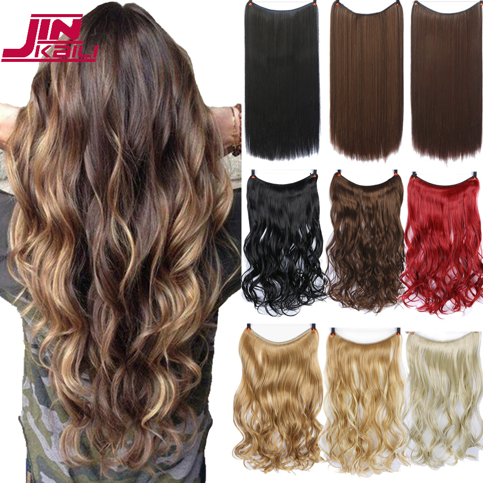 Best Price 24 Inch Long Synthetic Hair Heat Resistant Hairpiece Fish